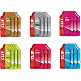 CLIF SHOT - Energy Gels - Variety Pack - (1.2 Ounce Packet, 18 Count)