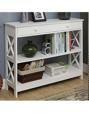Etonnant Convenience Concepts Oxford 1 Drawer Console Table, White