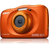 Nikon W150 Australian Warranty Coolpix Digital Camera, Orange (VQA112AA)