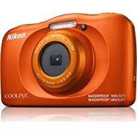 Nikon Coolpix W150 Digital Camera, Orange