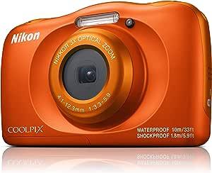 Nikon Coolpix W150 Digital Camera, Orange