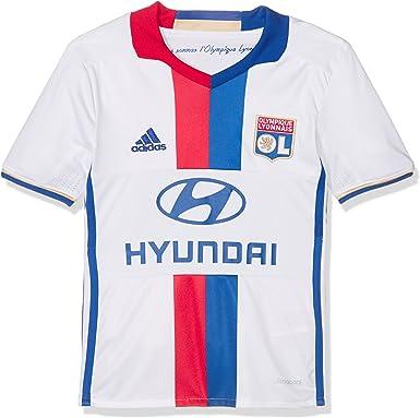 adidas AI8173 - Camiseta de fútbol para niños, color Multicolor (White/CRoyal/Red), 176: Amazon.es: Deportes y aire libre