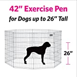 MidWest Foldable Metal Exercise Pen / Pet