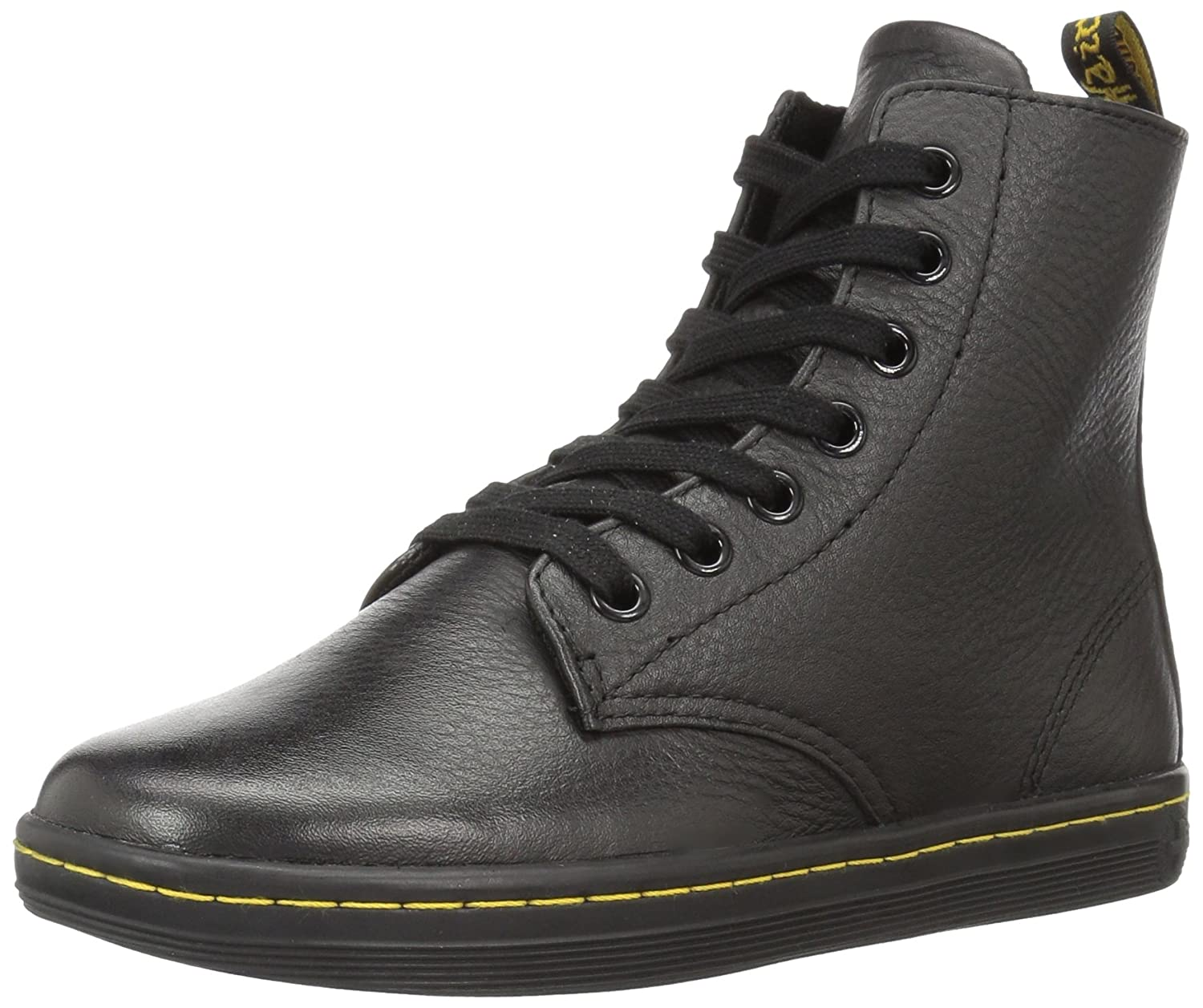 Dr.Martens Leyton 7 Eyelet Game On Black Womens Boots36 EU |Negro
