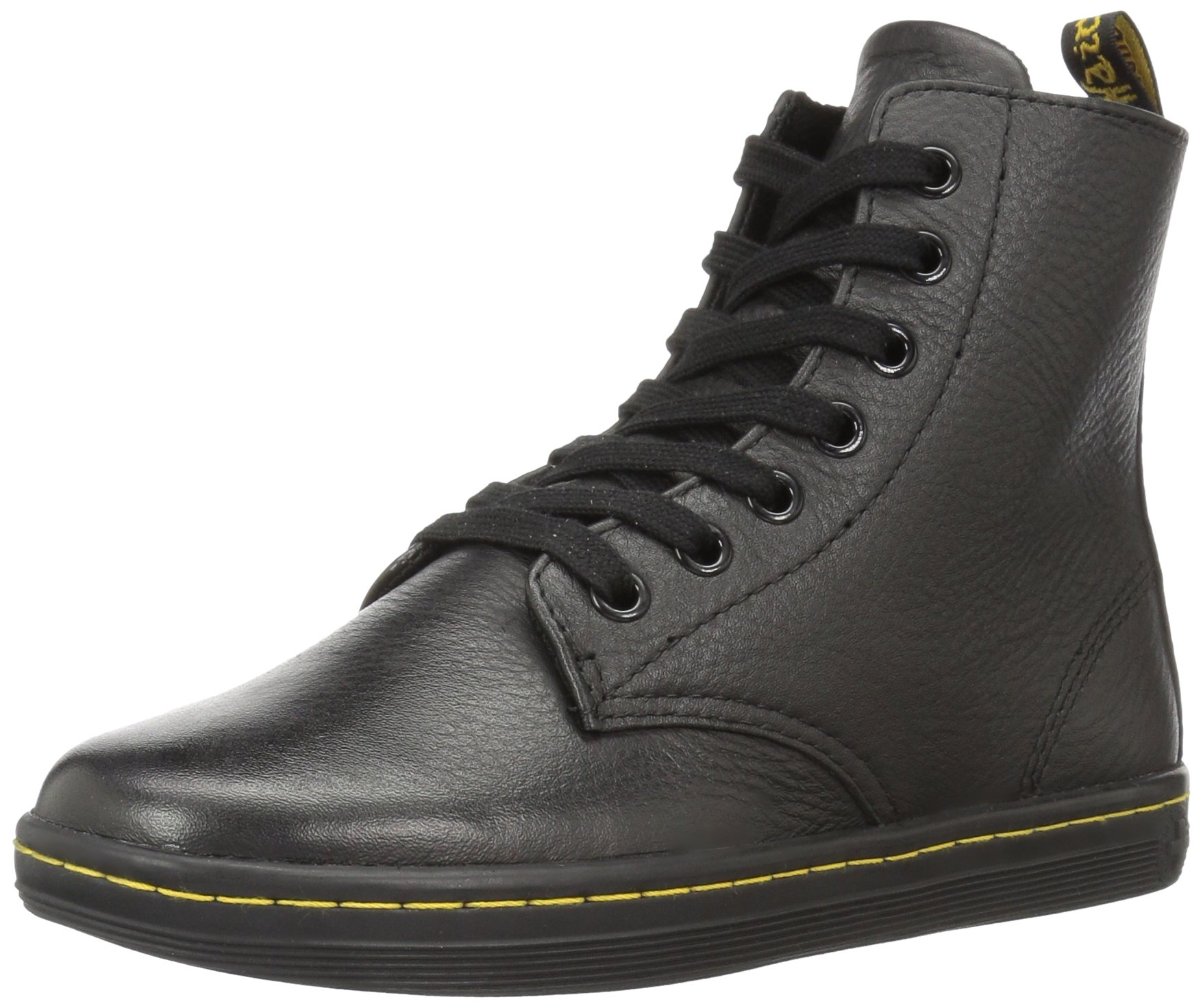 Dr. Martens Women's Leyton Boot,Black,8 UK/10 M US