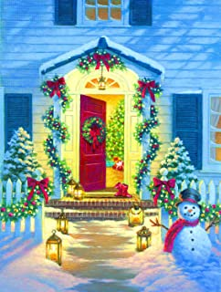 product image for Christmas Porch 500 pc Jigsaw Puzzle by SUNSOUT INC