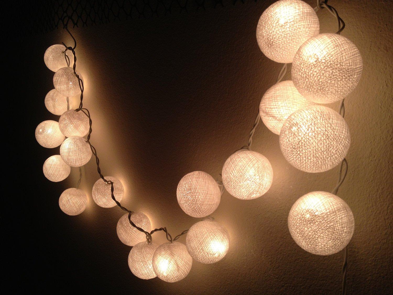 guirlande lumineuse boules. Black Bedroom Furniture Sets. Home Design Ideas