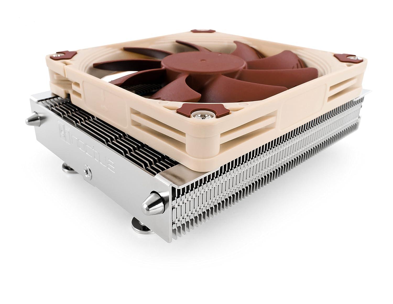 Noctua NH-L9a AM4, 高さ37mm AMD AM4対応 プレミアム ロープロファイル CPUクーラー(ブラウン)