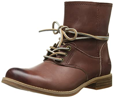 89188331d96 Timberland Women's Savin Hill Lace Ankle Motorcycle Boot, Light Brown, ...
