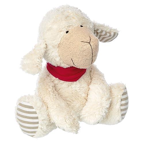 Sigikid - 38598 - Bébé Unisexe - Mouton en Peluche - Coton Biologique - 28 cm - Natural Love - Ecru