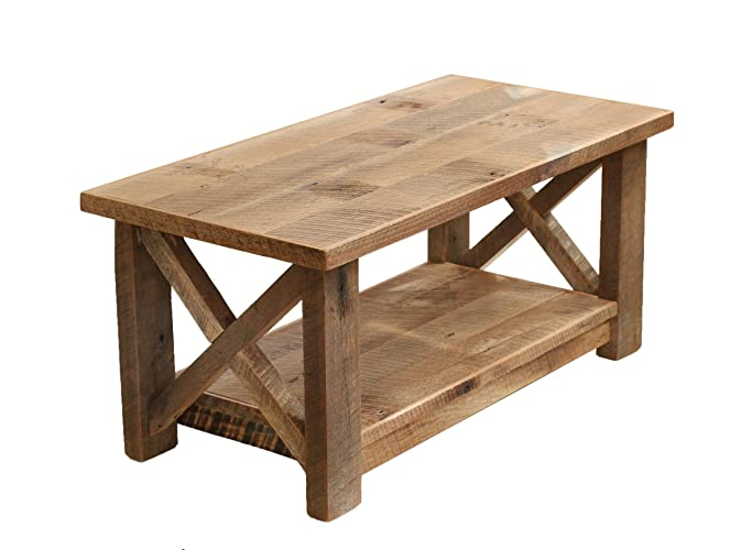 Incroyable Farmhouse Coffee Table X Made From Reclaimed Wood