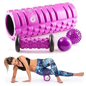 Yoga rodillo texturizado de espuma Eva de alta intensidad de ...