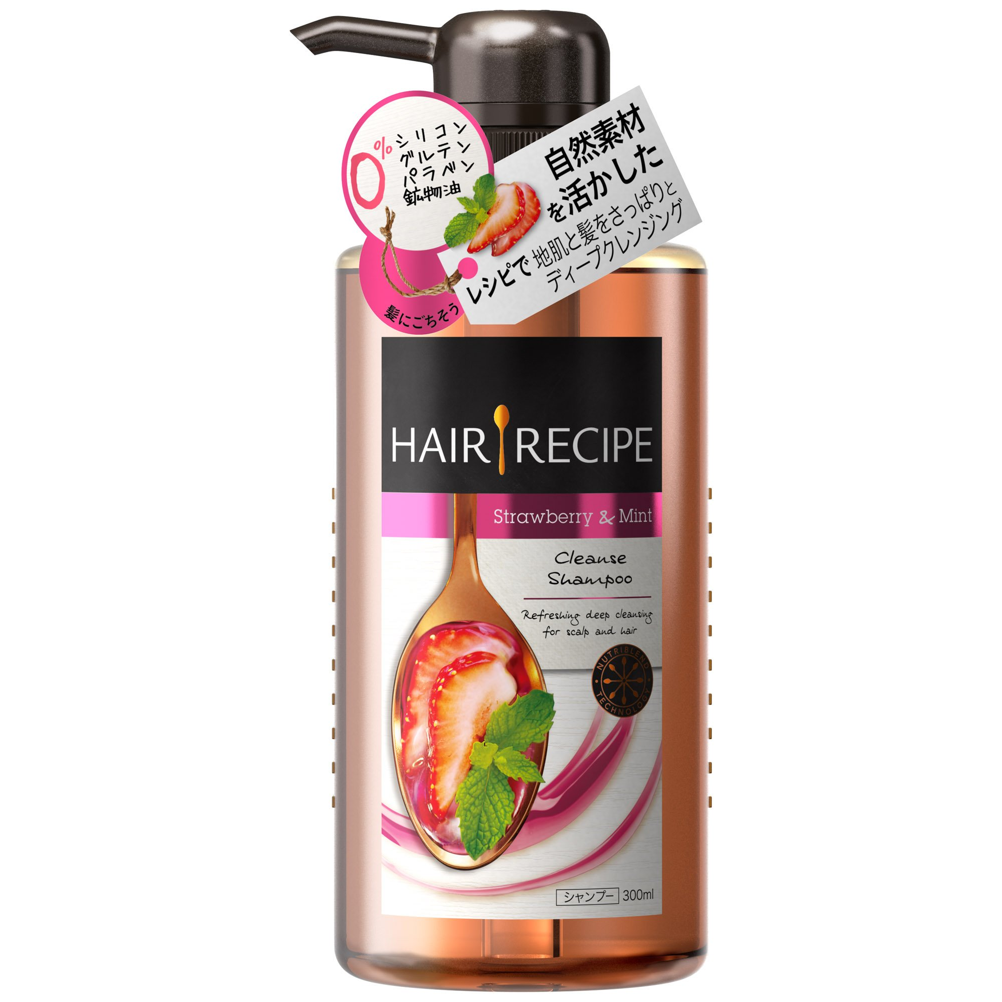 Japan Health and Beauty - Hair shampoo recipes mint blend cleansing recipes body 300ml *AF27* by HAIR GOODS