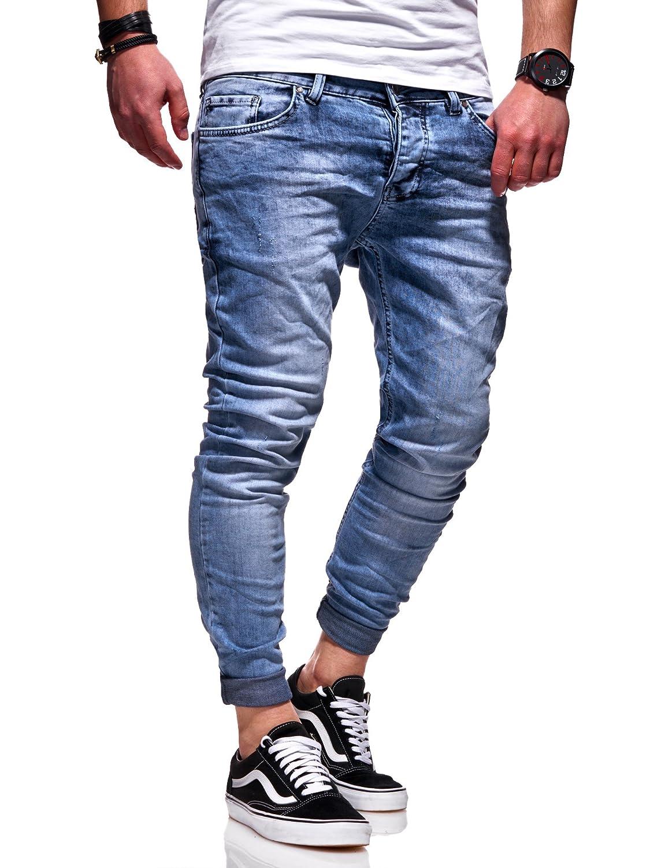Behype Herren Destroyed Jeans-Hose 80-0100