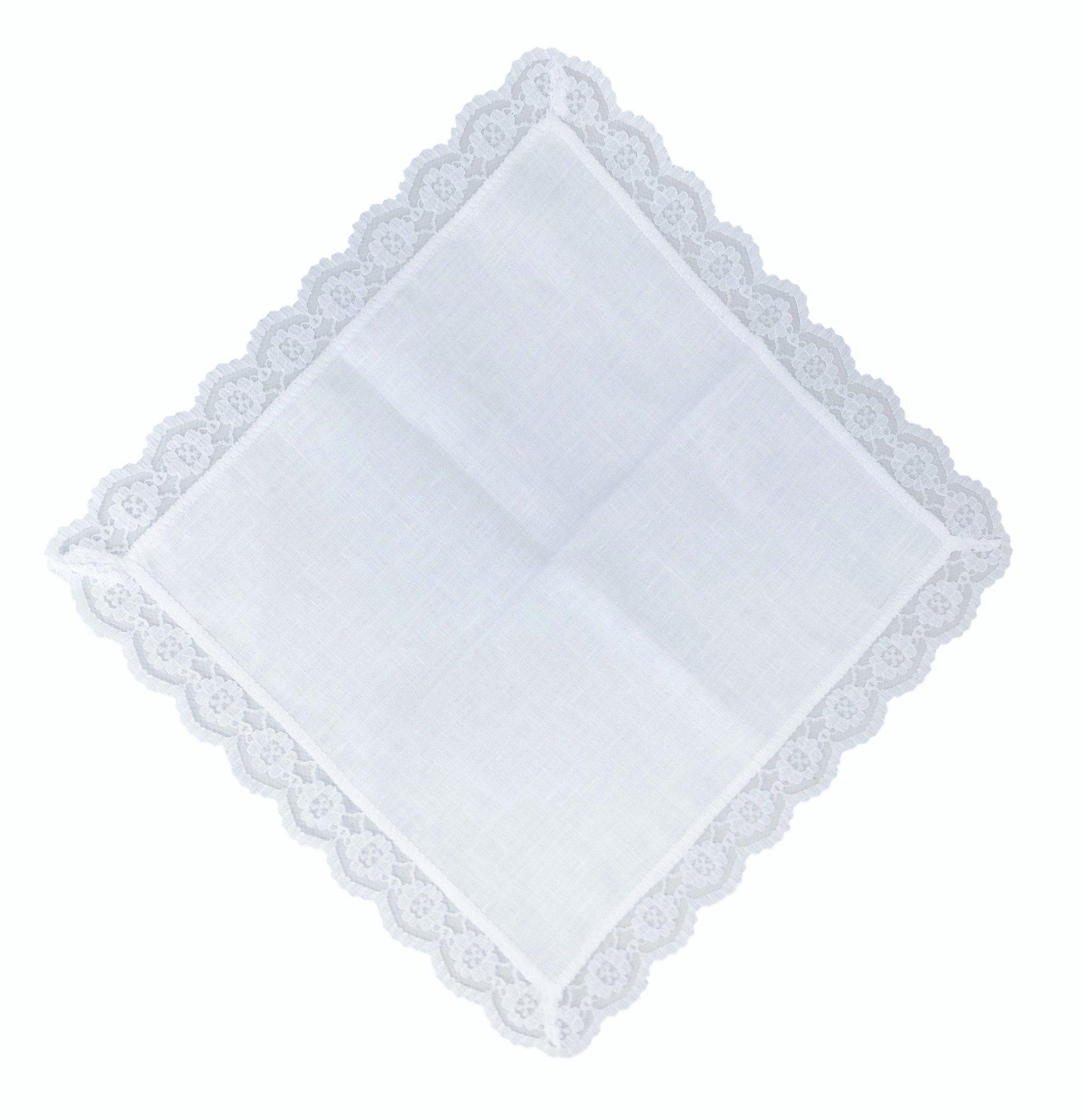 Thomas Ferguson - Ladies White Irish Linen Handkerchief - Pack of 3 In Gift Box by Thomas Ferguson Irish Linen (Image #3)