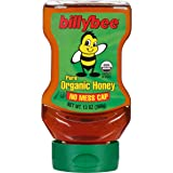 Billy Bee Organic Upside Down Liquid Honey, 13 oz