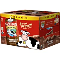 Deals on 12-Pack Horizon Organic UHT Chocolate Milk Boxes 8oz