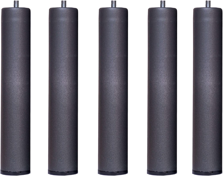 Somier multiláminas con REGULADORES LUMBARES + 5 patas. 135x190cm, FIRMEZA ADAPTABLE, TUBO 40x30MM y LÁMINAS de HAYA natural antideslizantes.