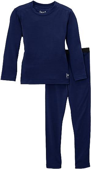 super natural Merino Funktionswäsche K Max Set 210 - Conjunto térmico de ropa interior para niña