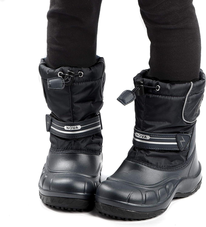 Nova Mountain Little Kids Winter Snow Boots