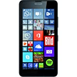 "Microsoft Lumia 640 Smartphone, Dual-SIM, Display HD-IPS 5"", Processore Quad-Core 1.2GHz, Fotocamera 8 MP, Memoria 8GB, Win 8.1, Nero [Germania]"