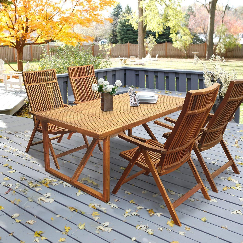 Amazon.com: Mesa de Stockholm 180 cm con 4 sillas de ...