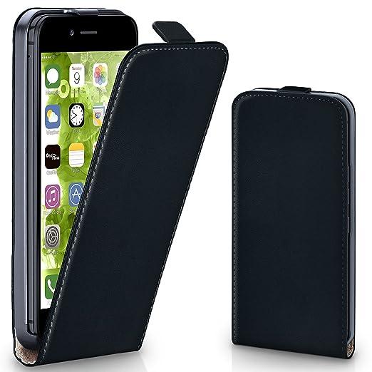 71 opinioni per OneFlow PREMIUM- Flip-Case- per Apple iPhone 6 / 6S- DEEP-BLACK