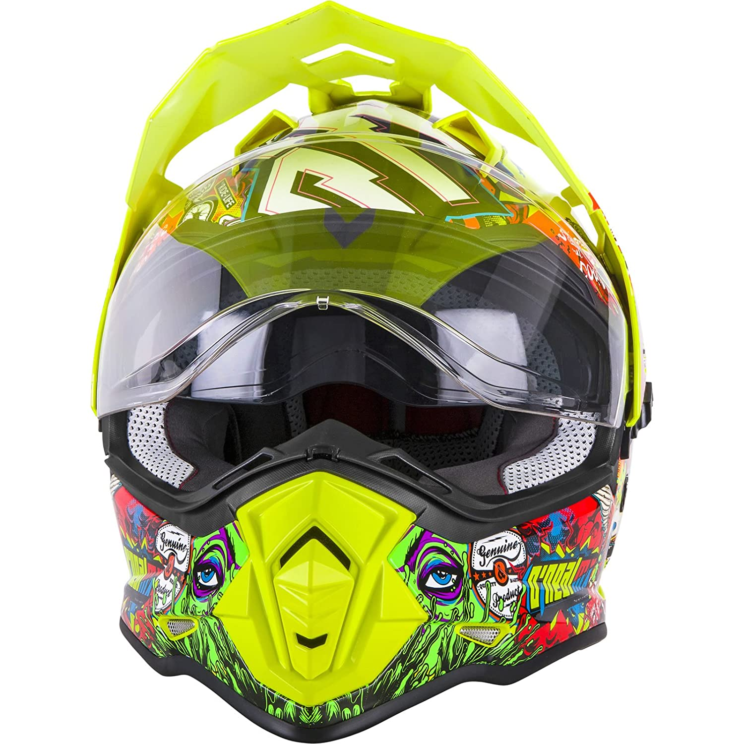 Amazon.es: Casco Mx Oneal 2018 2Series Sierra Ii Crank Multi (S, Amarillo)