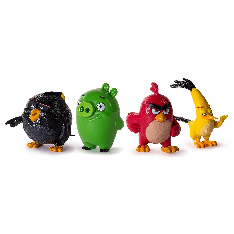 Angry Birds personaggi da collezione, confezione da 4 Spin Master 6027751