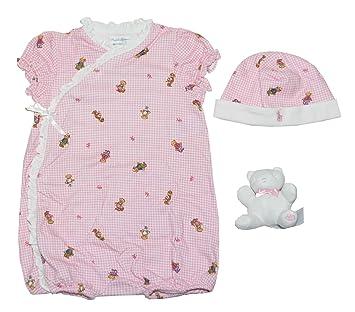 b7661939a Amazon.com: Ralph Lauren Baby Girls Bear Patterns Gift Box Set (24M ...