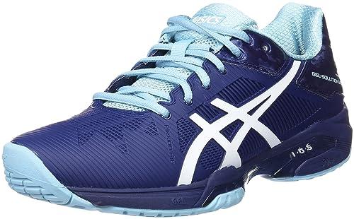 Chaussures femmes de Speed tennis Asics Gel Solution Speed 3 pour Bleu femmes , Bleu , 5: 1f878a4 - resepmasakannusantara.website