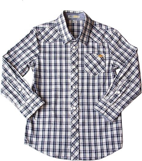6M-6Y Styles I Love Toddler Kids Boy Buffalo Check Button Down Cotton Shirt