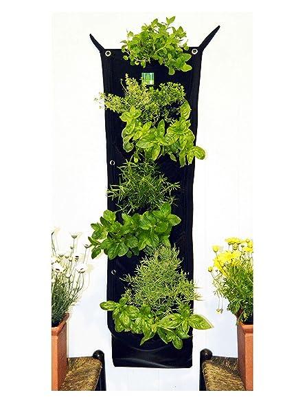 Amazon Com Delectable Garden 7 Pocket Waterproof Indoor Hanging