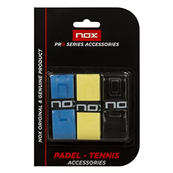 Nox Blister 3 Uni Tacto Color - Overgrip, color multicolor: Amazon.es: Deportes y aire libre