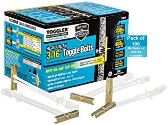 25 5//16-18 Toggler SNAPTOGGLE Heavy Duty Toggle Bolt Zinc Plated BE