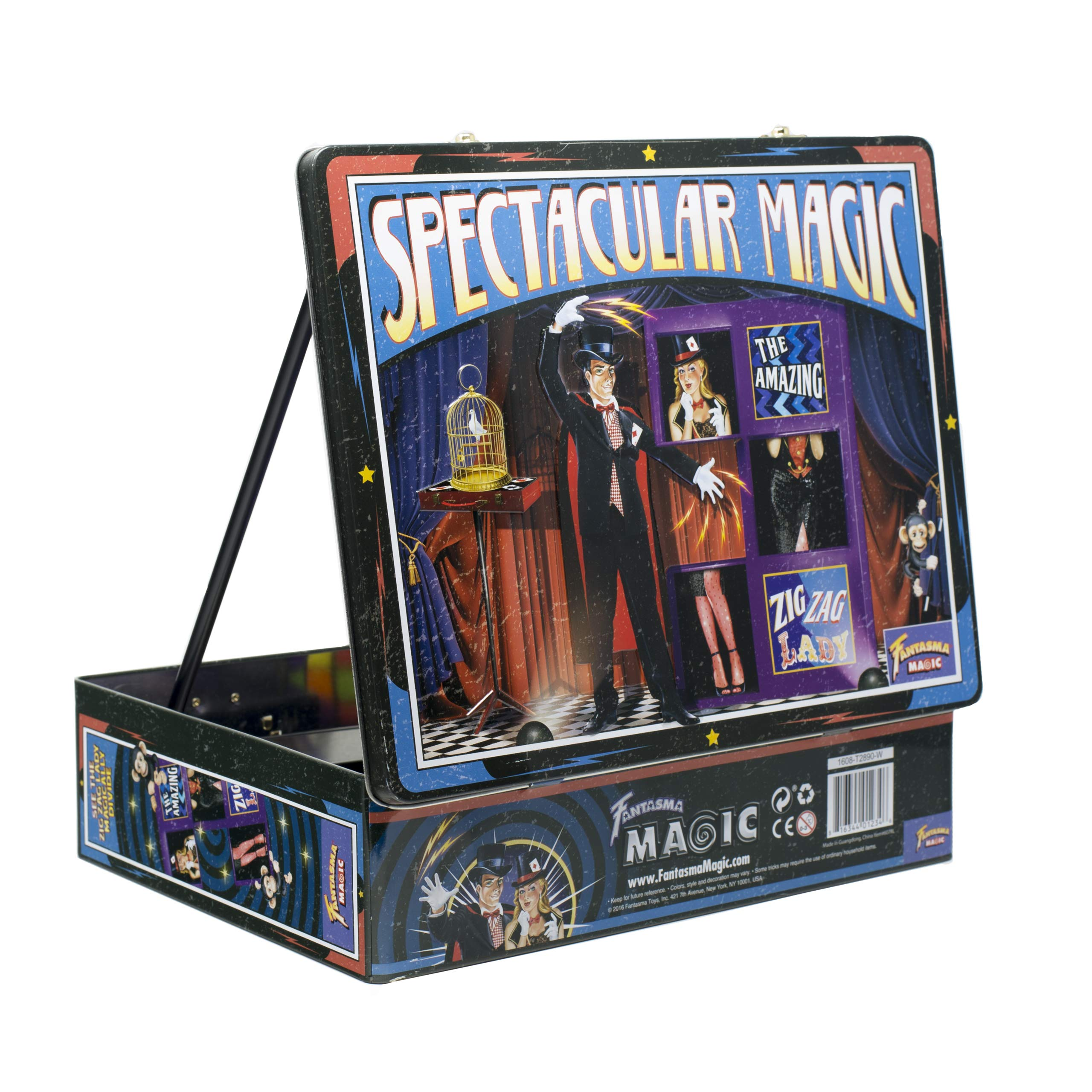 Fantasma Spectacular Magic Box Set for Kids - Magic Kit and Card Trick - Learn 135 Magic Tricks - Great for Boys and Girls 7 Years and Older        by Fantasma (Image #6)