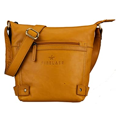 Image Unavailable. Image not available for. Color  Finelaer Women Vintage  Soft Leather Crossbody Shoulder Bag 80a5624ad3e27