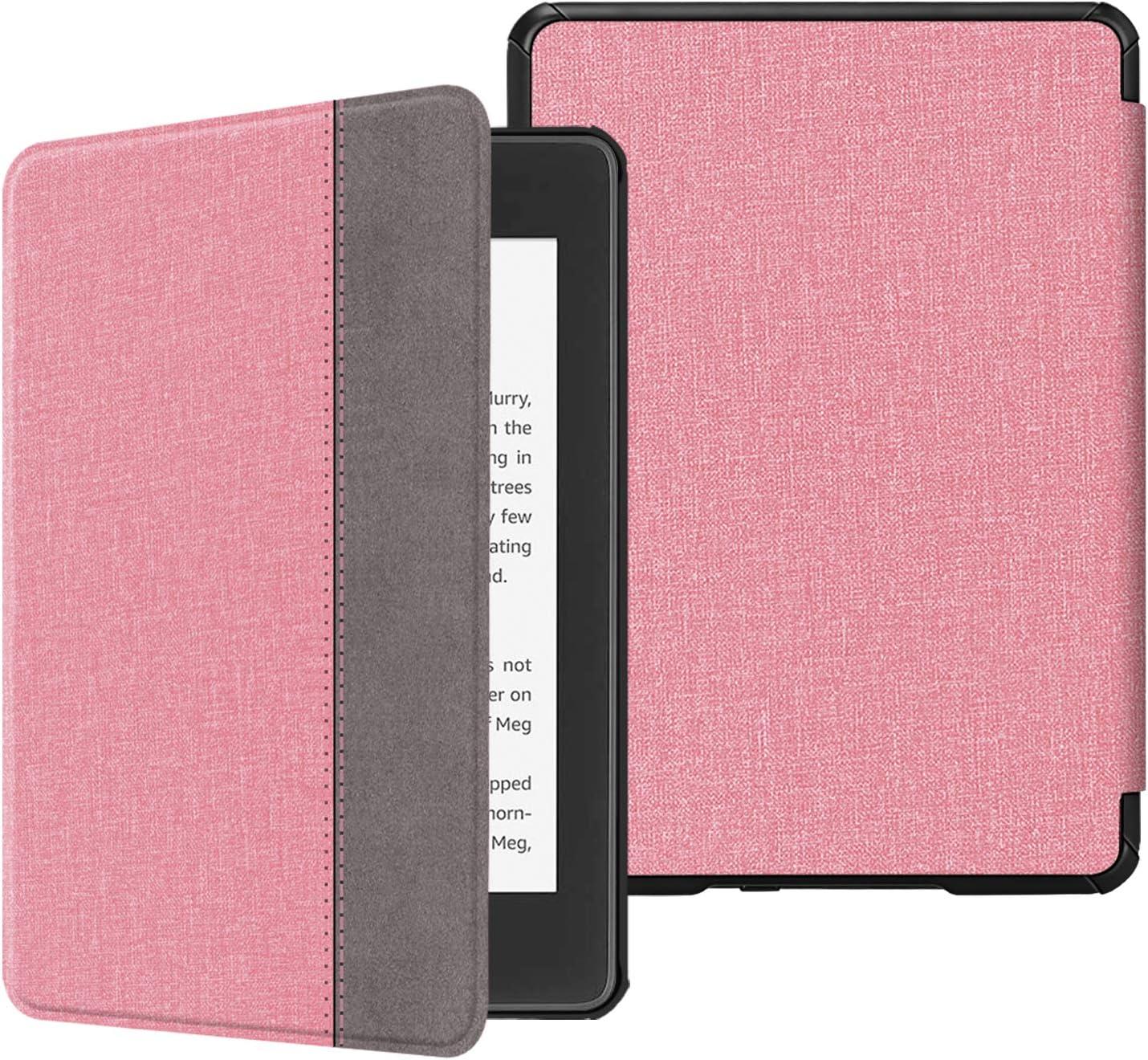 Ciruela Fintie SlimShell Funda para Kindle Paperwhite - Carcasa Fina y Ligera de Cuero Sint/ético con Funci/ón de Auto-Reposo//Activaci/ón 10./ª generaci/ón, 2018