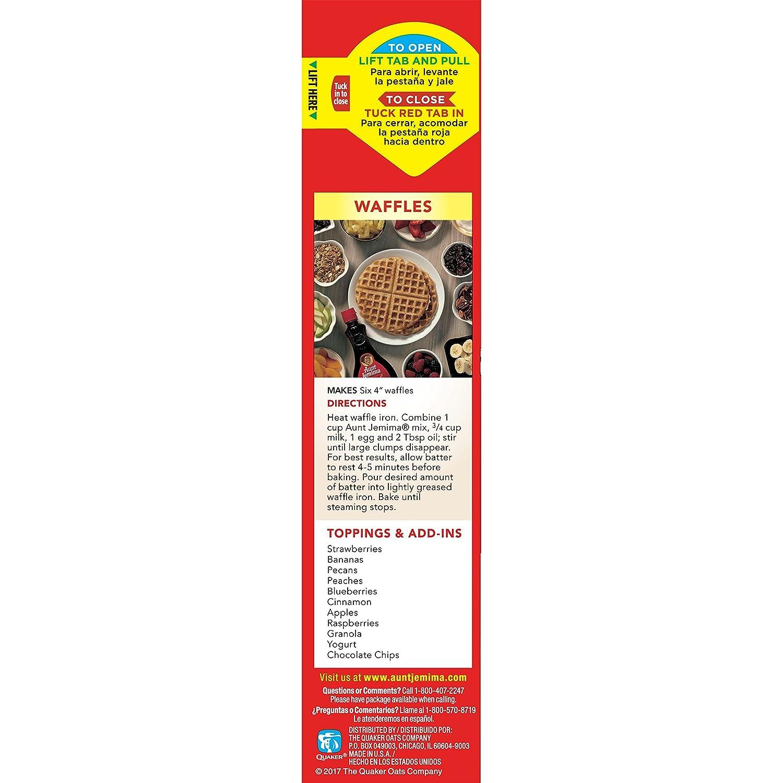 Aunt Jemima, Copra seca en polvo (Pancake y Waffle) - 907 gr.: Amazon.es: Alimentación y bebidas