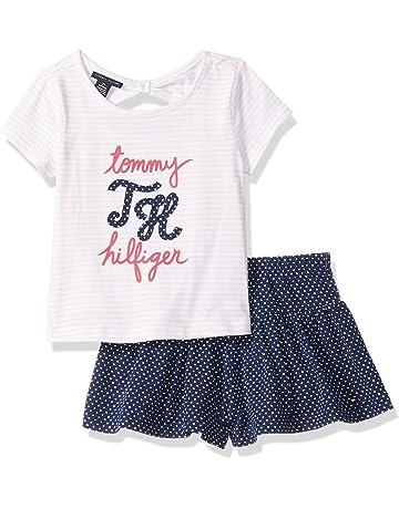 ec4dd8ef3 Tommy Hilfiger Girls' 2 Pieces Shorts Set