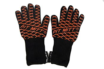 Charcoal Companion Heat Resistant BBQ Gloves