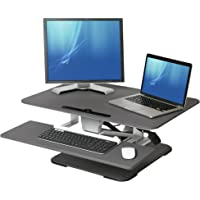 Seville AIRLIFT Pneumatic Sit-to-Stand Adjustable Desk Converter