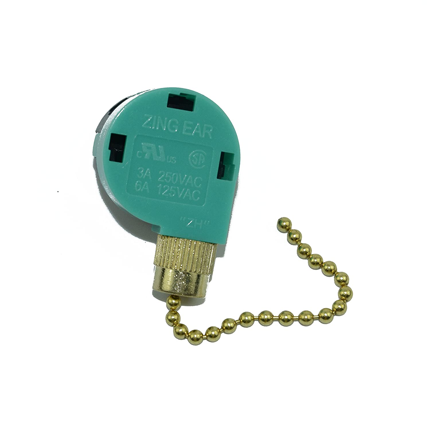 Zing Ear Ze 268s6 208s6 3 Speed Antique Brass Capacitor Type Fan Control Wiring Home Kitchen
