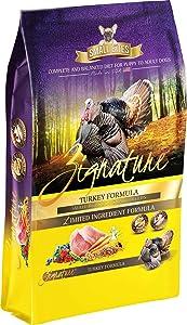 Zignature Turkey Small Bites Dog Food Formula 13.5 Pounds