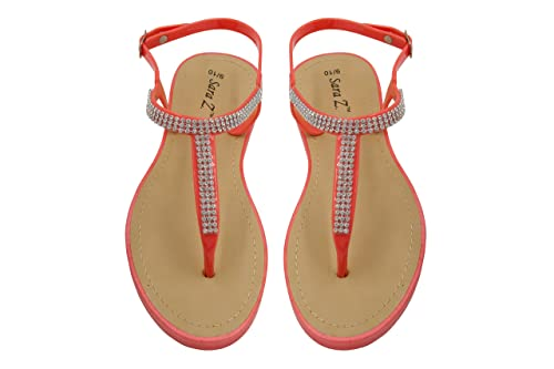 adc30cd66 Amazon.com  Sara Z Ladies T-Strap PCU Sandal  Shoes