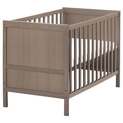 reputable site 51510 ff444 Amazon.com: IKEA.. 802.485.73 Sundvik Crib, Gray-Brown: Home ...