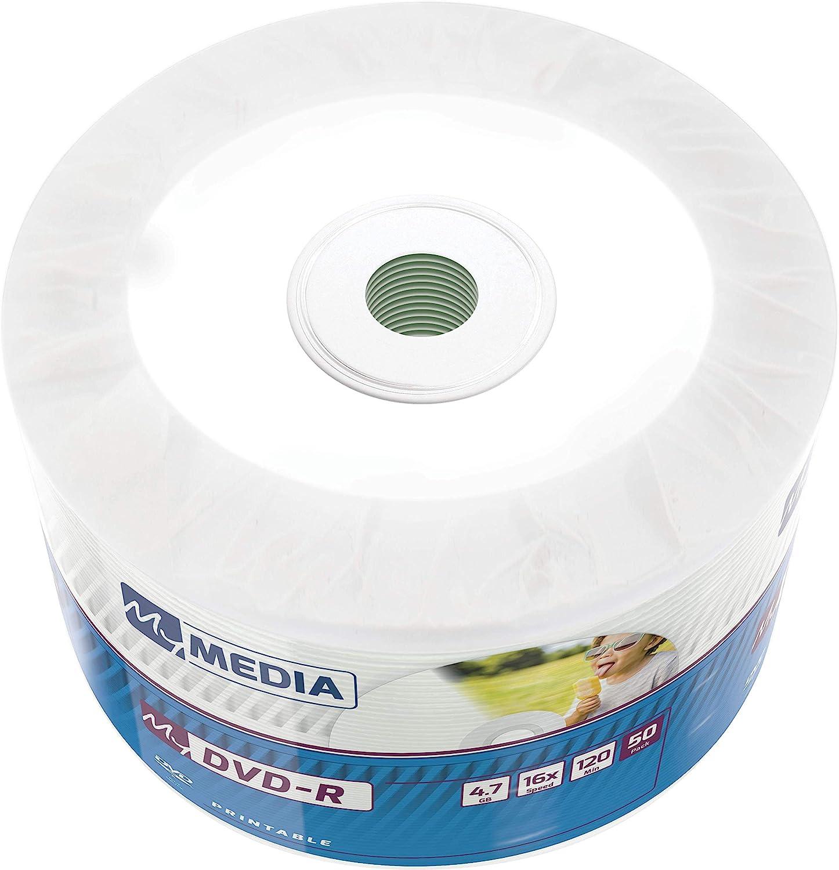 Mymedia Dvd R 16x 4 7gb I 50er Pack Spindel I Dvd Computer Zubehör