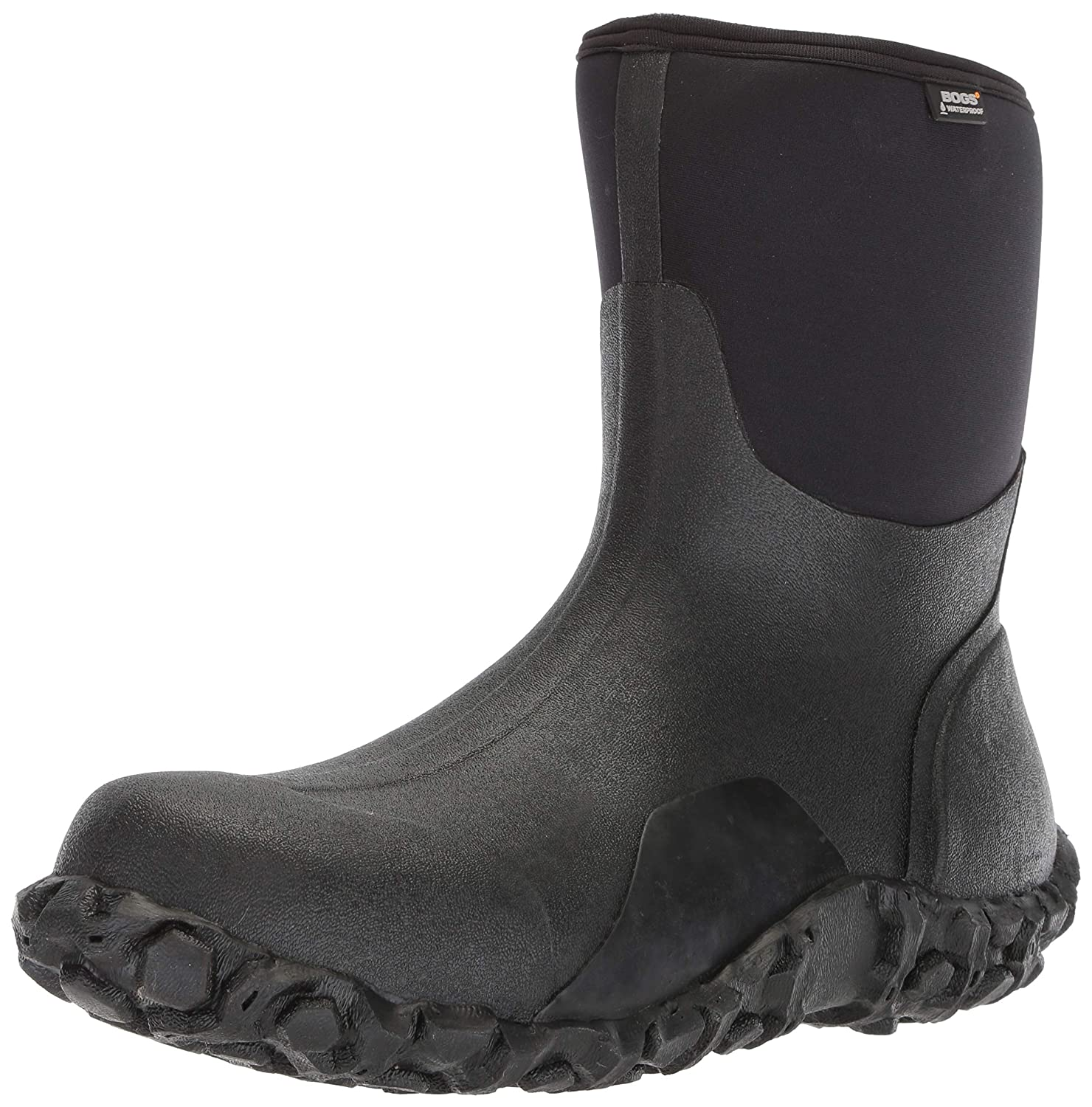 f32a9cae774 Bogs Mens Classic Mid Waterproof Insulated Rain and Winter Snow Boot