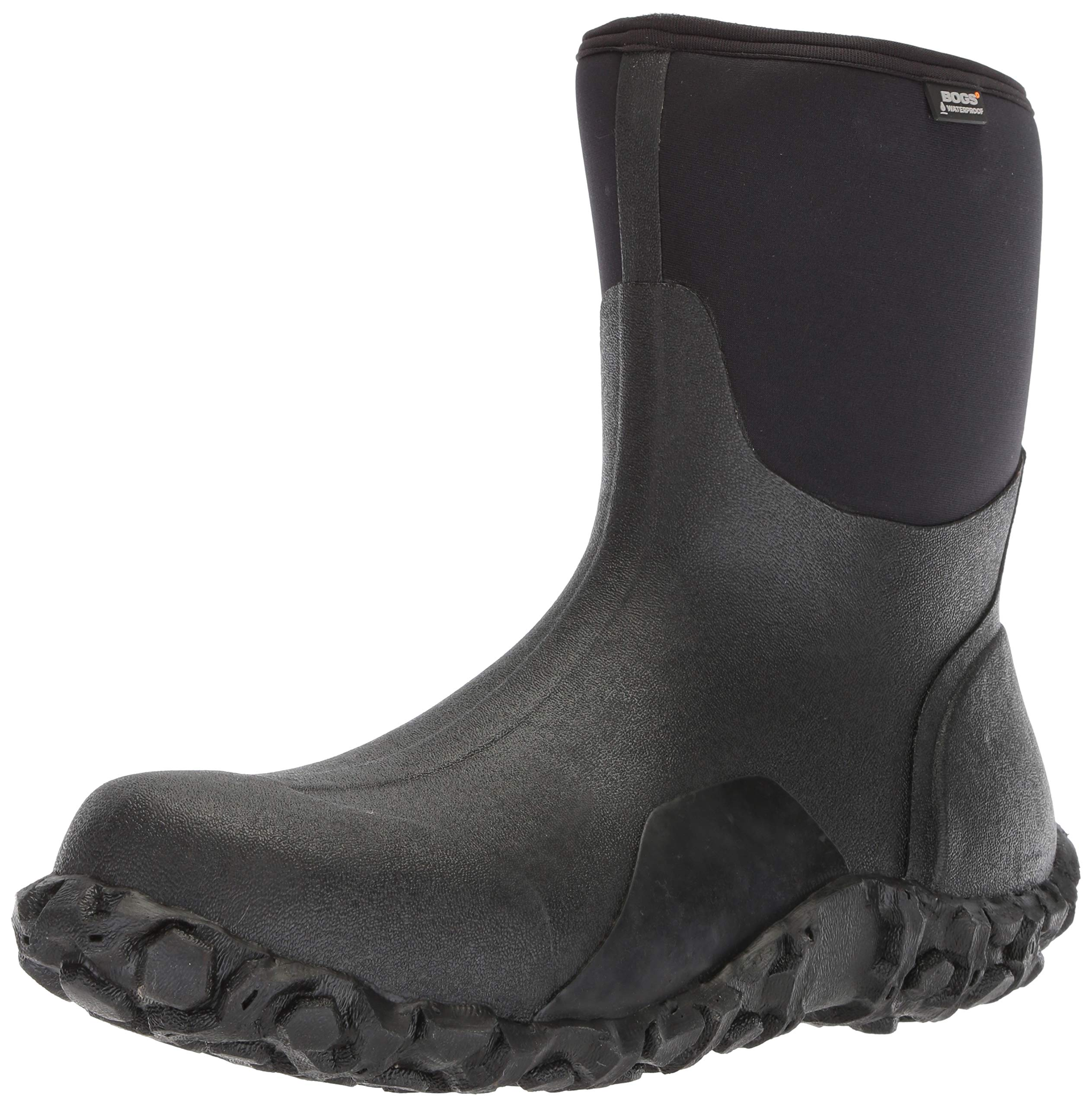 c6956d51803b3 Bogs Mens Classic Mid Waterproof Insulated Rain and Winter Snow Boot  product image