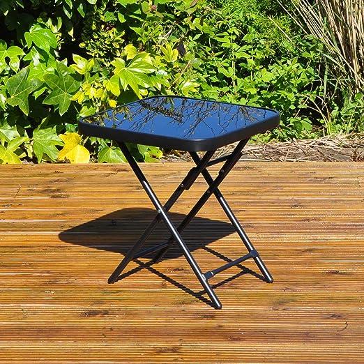 Kingfisher - Mesa Plegable para jardín o Patio - Ideal para ...